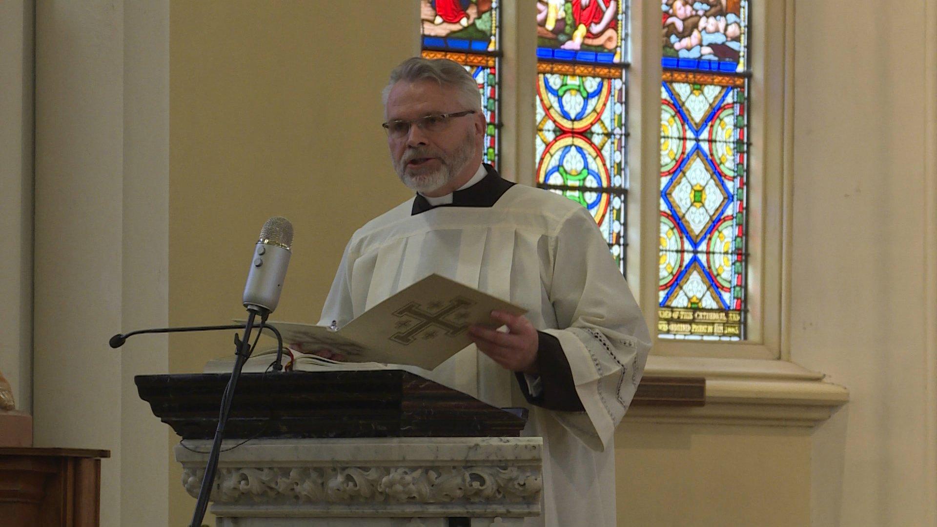 Witness Talk – Father Shawn Hughes